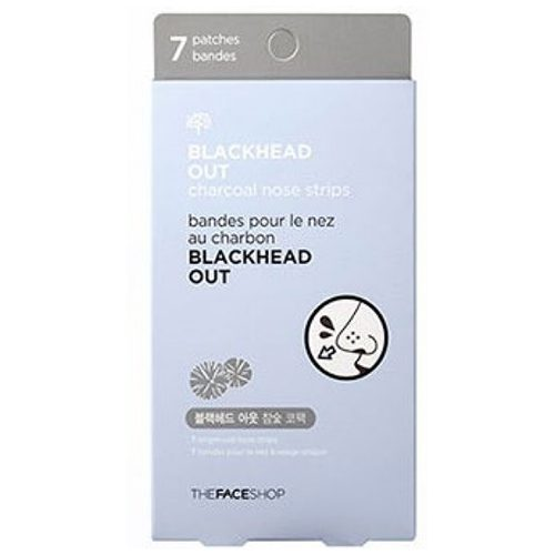 Dolly Skin The Face Shop Blackhead Out Charcoal Nose Strips