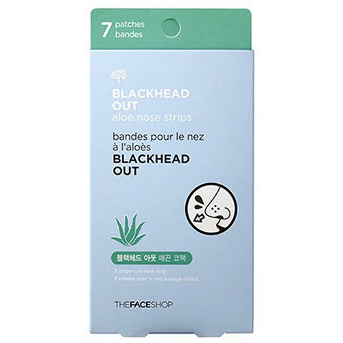 Dolly Skin The Face Shop Volcanic Clay Black Head Aloe Nose Strip