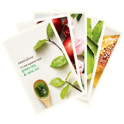 Dolly Skin Innisfree It's real squeeze mask