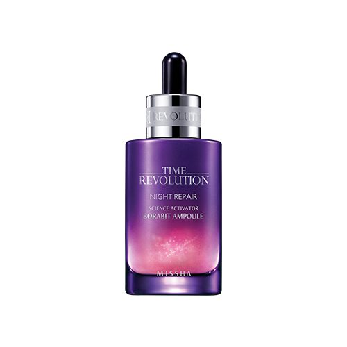 Dolly Skin Missha Time Revolution Night Repair Borabit Ampoule
