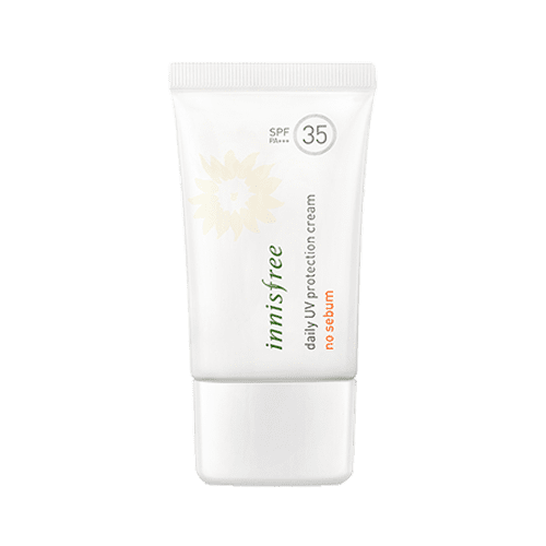 dolly skin Innisfree DAILY UV PROTECTION CREAM NO SEBUM