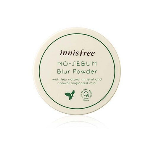 dolly skin Innisfree NO SEBUM Blur Powder 3