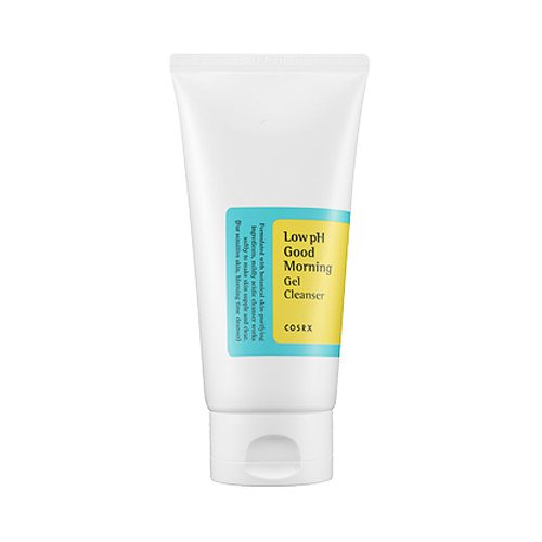 dolly skin cosrx LOW PH GOOD MORNING GEL CLEANSER