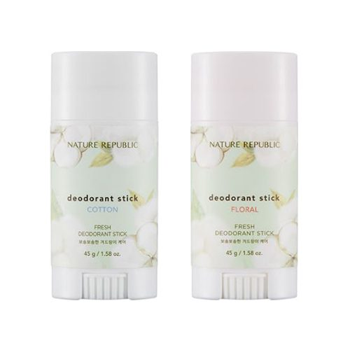 dolly skin Nature Republic Fresh Deodorant Stick