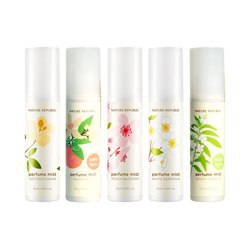 dolly skin Nature Republic Refresh Perfume Mist