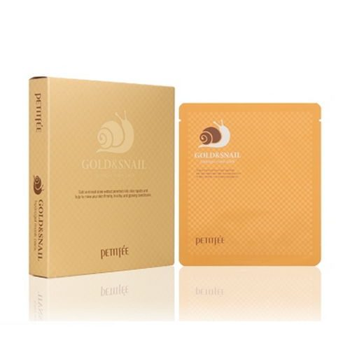 dolly skin Petitfee Gold & Snail Mask Sheet