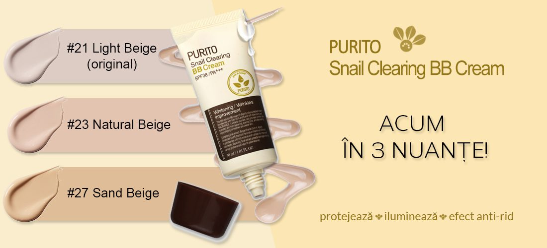Purito Snail CLearing BB Cream Dolly Skin