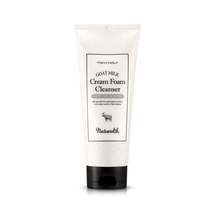 Dolly Skin Tonymoly Naturalth Goat Milk Foam Cleanser