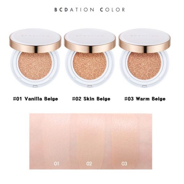 DOLLY SKIN TONYMOLY_BCDATION_DOUBLE_SERUM_CUSHION colors