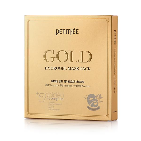 Dolly Skin Petitfee Gold Hydrogel Mask Pack