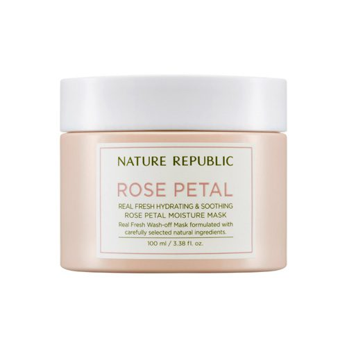 Dolly Skin Nature Republic Real Fresh Rose Petal Moisture Mask
