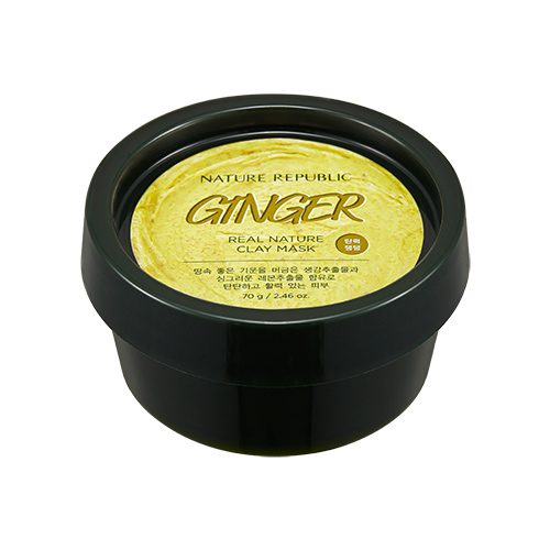 Dolly Skin Nature Republic Real Nature Clay Mask Ginger