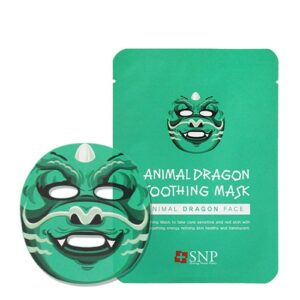 SNP Animal Mask – Animal Dragon Soothing Mask Sheet