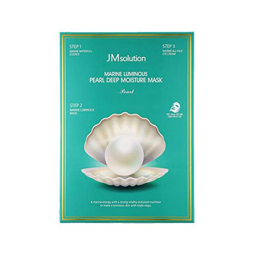 JM Solution Marine Luminous Pearl Deep Moisture Mask Dolly Skin