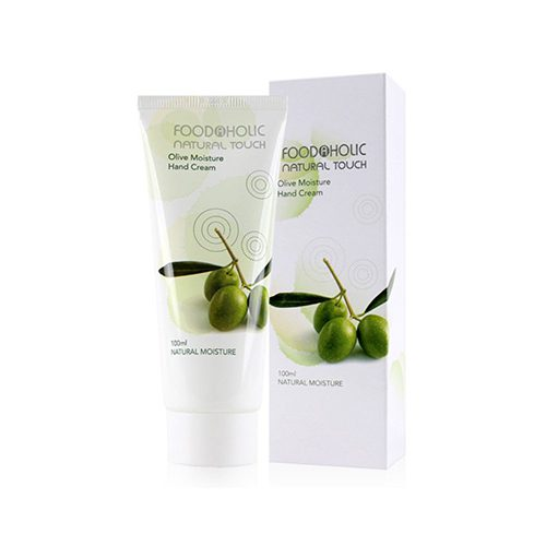 FOODAHOLIC Natural Touch Olive Moisture Hand Cream