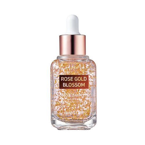 ELRASTORY Rose Gold Blossom 24K Gold Ampoule Dolly Skin