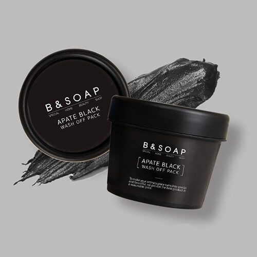 B&SOAP Apate Black Wash Off Pack Dolly Skin