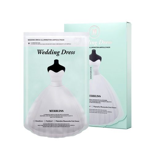 MERBLISS Wedding Dress Illumination Ampoule Mask