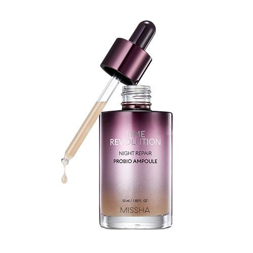 Missha Time Revolution Night Repair Probio Ampoule Dolly Skin