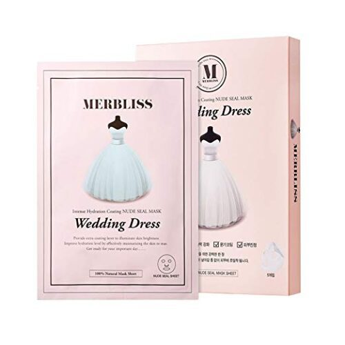 MERBLISS Wedding Dress Intense Hydration Coating Nude Seal Mask