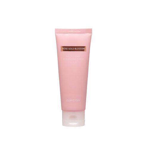 ELRASTORY Rose Gold Blossom Micro Whip Cleansing Foam