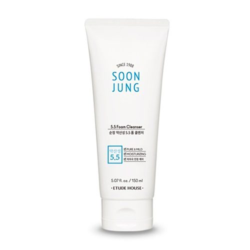 Etude House Soon Jung pH 5.5 Foam Cleanser