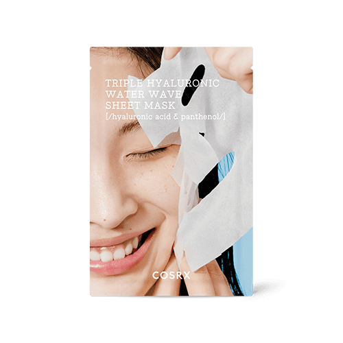 COSRX Triple Hyaluronic Water Wave Sheet Mask