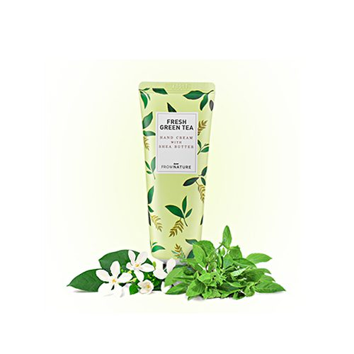 FROM NATURE Hand Cream With Shea Butter Fresh Green Tea