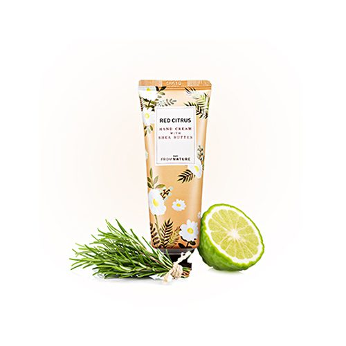 FROM NATURE Hand Cream With Shea Butter Red Citrus